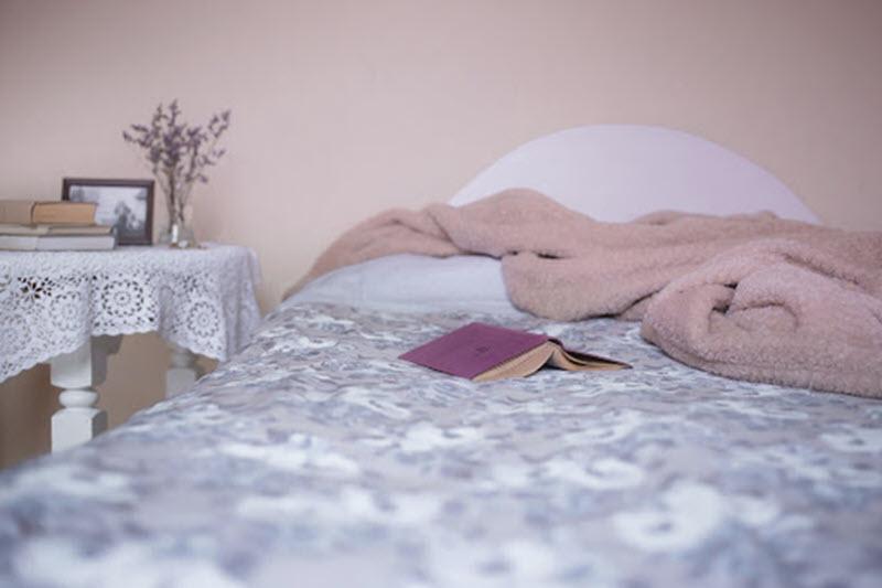 bed inside hotel